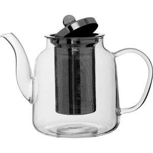 Premier Housewares High Borosilicate Teapot - 1l  5018705382401