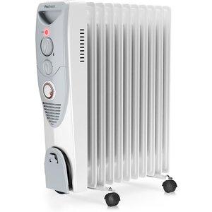 Pro Breeze 2500w Oil Filled Radiator 11 Fin Heater 5060596020979