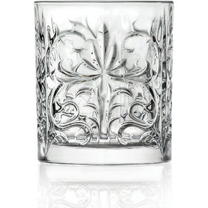 Rcr Crystal Tattoo Tumbler Glasses - Set Of 6