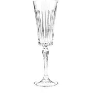 Rcr Crystal Timeless Champagne Flutes Glasses - Set Of 6