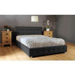 Reuben Ottoman Storage Single Bed - Black  5057289856267