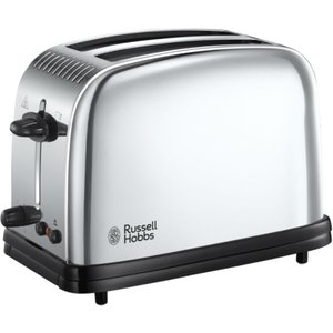 Russell Hobbs 23310 Classic Long Slot 2-slice Toaster - Stainless Steel  4008496718245