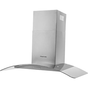 Russell Hobbs Rhgch901ss 90cm Chimney Cooker Hood - Glass & Stainless Steel 5060210928520