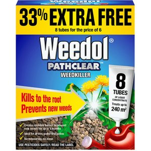 Scotts Pathclear Weedkiller Tubes - 6 Pack  5010272076660