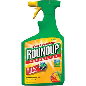 Scotts Roundup Fast Action Weedkiller - 1l Spray