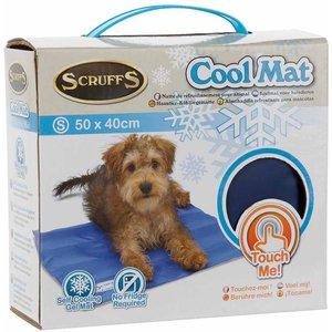 Scruffs Small Self-cooling Mat - Blue Bed/rcd/936167
