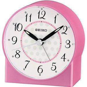 Seiko Sweep Second Hand Beep Alarm Clock - Pink Qhe136p