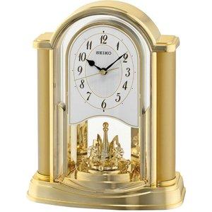 Seiko Swinging Bird Pendulum Wall Clock With Wood Effect Case - Brown Qxc237z 4517228828782
