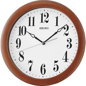 Seiko Wooden Wall Clock - Dark Brown Qxa674z 4517228830532