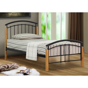 Sienna Small Double Bed Frame - Black