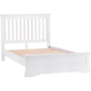 Sierra Sewla Single Bed Frame - White