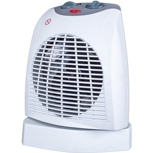 Silentnight 2kw 90° Oscillating Fan Heater - White