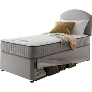 Silentnight Healthy Growth Imagine 600 Pocket Mattress And Maxi Store Single Bed - Slate G 25im60090st0003