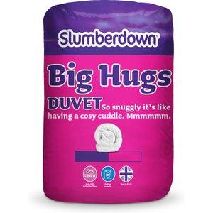 Slumberdown Big Hugs King Duvet 10.5 Tog - White  5012924053135