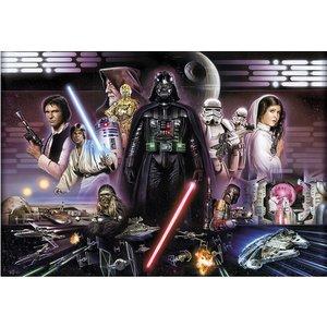 Star Wars Darth Vader Collage Wall Mural  4036834084820