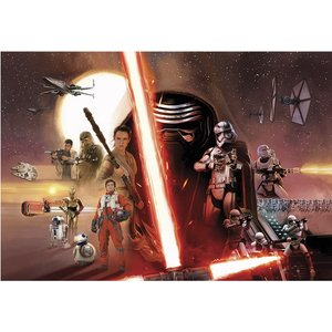 Star Wars Episode Vii Collage Wall Mural  4036834084929