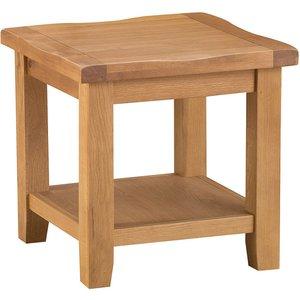 Stockbridge Oak Lamp Table Stm Lt