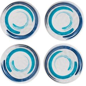 Summerhouse Coast Ceramic Style Dinner Plates - 4  5060311736291