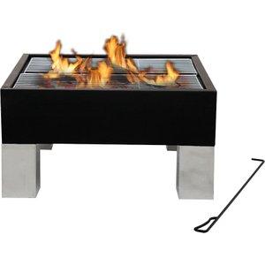 Tepro Laredo Garden Fire Pit Bbq - Black  4011964010697