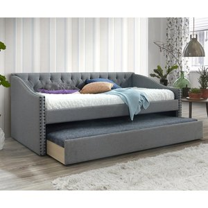 The Artisan Bed Company Fabric Guest Bed - Grey Wt4591 8944100271781