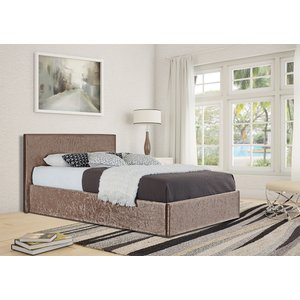 Theodore King Ottoman Storage Bed - Truffle  5057289855680