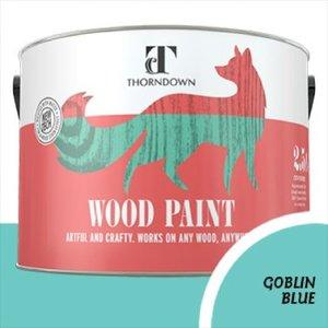 Thorndown Goblin Blue Wood Paint 750 Ml Wpgob750so