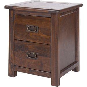 Tilsbury 2 Drawer Bedside Cabinet  5017839022535