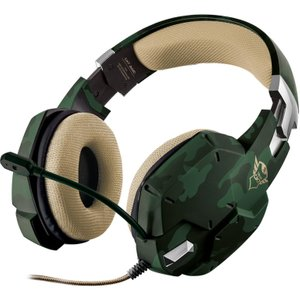 Trust Gxt 322 Carus Gaming Headset - Jungle Camo  8713439208658