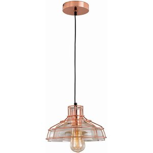 Village At Home Holloway Pendant Light - Copper Home1668