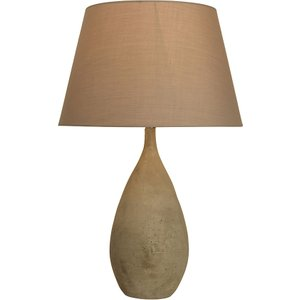 Village At Home Iver Table Lamp - Grey Home1631 5022551345817