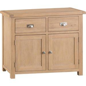 Wisborough Ready Assembled 2-drawer 2-door Oak Sideboard