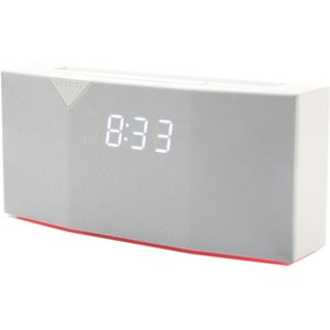 Witti Design Beddi Smart Radio Alarm Clock & Bluetooth Speaker - White