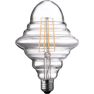 Wofi Led Lamp Bulb Transparent E27 4w 300 Lumen 1800 Kelvin 9760 - 2 Pack L9989