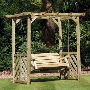Woodshaw Hampton Swing Arbour 620004