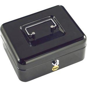 Yale Medium Cash Box Keyed - Black Y Cb0800nfp 5010609081565