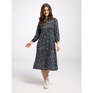 Pentlebay Womens Midi Dress (navy White Splodge, Size 10) Pbss20012 Bws 10 Womens Dresses & Skirts, Navy White Splodge