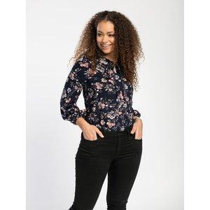 Pentlebay Womens Tie Neck Blouse (black Floral, Size 12) Pbss20018 Bla 12 Womens Tops, Black Floral