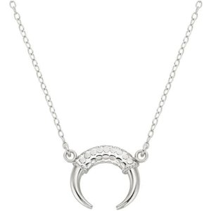 Anna Beck Necklace Horn In Silver 124ngg
