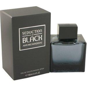 Antonio Banderas Seduction In Black Eau De Toilette 100ml Edt Spray