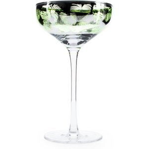 Artland - Tropical Leaves - Champagne Saucers 35cl