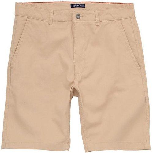 Asquith & Fox Chino Shorts - Natural 38'/x-large