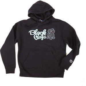 Black Pug Hooded Combo Sweat Black Purple - Small, Purple