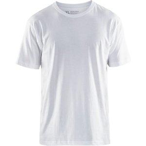 Blaklader Cotton Tee Shirt 5 Pack White - 3325 White - Xxxl, White