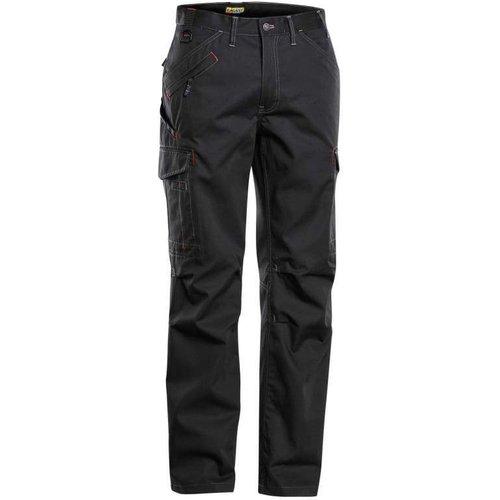 Blaklader Service X Cargo Combat Work Trousers (multi Pockets) - 1403 Black 9900 - (c58)w4
