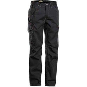 Blaklader Service X Cargo Combat Work Trousers (multi Pockets) - 1403 Black 9900 - (c58)w4, Black 9900