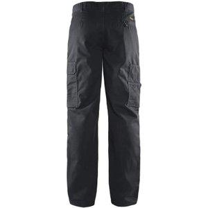 Blaklader Workwear Basic Cargo Combat Work Trousers -1400 1800 Black - (d108)w40 X L29, Black