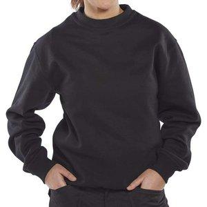 Click Workwear Polycotton Sweatshirt 300g - Clpcs Bottle Green - Medium, Bottle Green