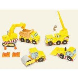 Construction Set - Wooden Vehicles By Le Toy Van