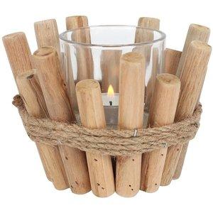 Driftwood Candle Holder - Single
