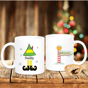 Elf From The North Pole Personalised Christmas